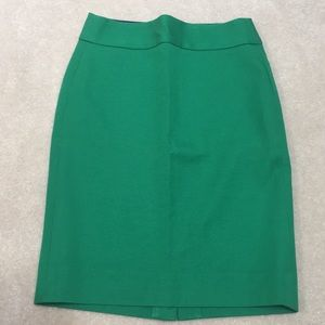 Emerald Green Banana Republic Skirt.